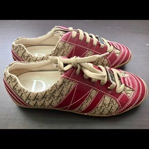 4306a1080b5e Christian Dior Shoes - CHRISTIAN DIOR Diorissimo Low Top Sneakers